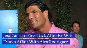 Jose Canseco Fires Back After Ex-Wife Denies Affair With Alex Rodriguez [Video]