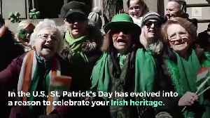 St. Patrick's Day by the Numbers [Video]