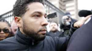 Jussie Smollett Pleads Not Guilty to Disorderly Conduct Charges | THR News [Video]