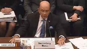 Commerce Secretary Wilbur Ross Appears For Hearing On Census Citizenship Question [Video]