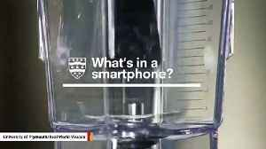 Scientists Put A Smartphone In A Blender To Reveal What's Inside [Video]