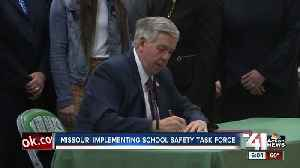 Missouri implementing school safety task force [Video]