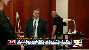 Jury finds David Dooley guilty in retrial [Video]