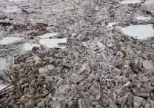 Huge Chunks of Ice Clog Des Moines River [Video]