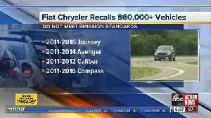 Fiat Chrysler recalling nearly 900,000 vehicles on emissions [Video]