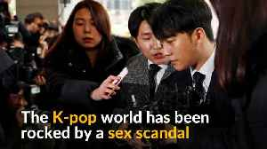 South Korea's K-pop world rocked by sex scandals [Video]