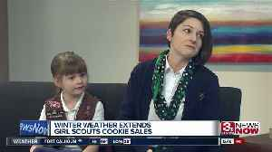 Girl Scouts Extend Cookie Sales [Video]