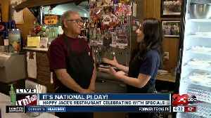 Special at Happy Jack's for Pi Day [Video]