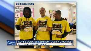 Kohl's donates $500K to area charities [Video]