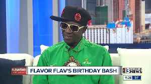 Flavor Flav talks about his 60th Birthday Bash [Video]