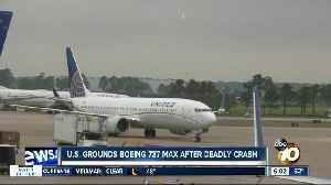 U.S. grounds Boeing 737 Max after deadly crash [Video]