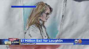 Actress Lori Loughlin Surrenders In LA, Released On $1M Bond For College Admissions Bribery Scandal [Video]