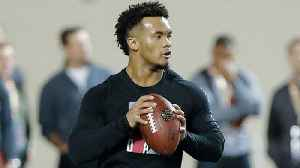 Kyler Murray impresses at Oklahoma's pro day [Video]