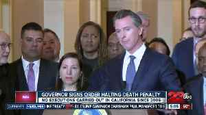 Gov Gavin Newsom signs exec order to hold death penalty executions [Video]