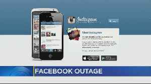 News video: Systemwide Outage Affecting Facebook, Instagram