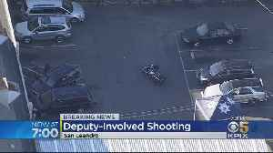 Suspect In Thrift Store Theft Shot Dead By Deputies In San Leandro [Video]