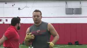 13 Badgers participate in UW Pro Day [Video]