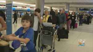 Travelers In Miami Not Happy About Long Lines But Understand Safety Comes First [Video]