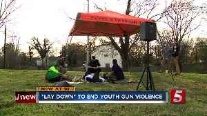 Protesters lay down in an effort to end Nashville's youth gun violence [Video]