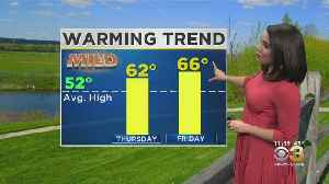 Wednesday Evening Forecast: 60s To End The Week [Video]