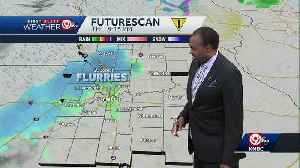 Thursday will be cooler, a few flurries possible by evening [Video]