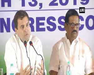 PM Modi has attacked MSME through demonetisation GST Rahul Gandhi [Video]