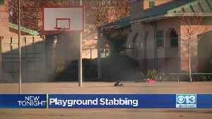 Young Girl Stabbed On Playground [Video]