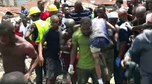 At least 8 killed in Nigeria school building collapse [Video]