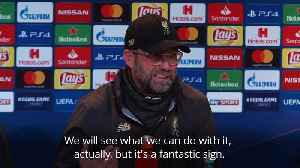 Klopp: Liverpool are back where they belong [Video]