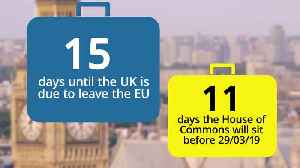 Countdown to Brexit: 15 days until Britain leaves the EU [Video]