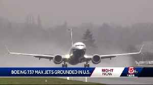 Boeing 737 Max jets grounded in US [Video]