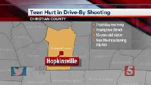 15-year-old struck in foot during Hopkinsville drive-by shooting [Video]