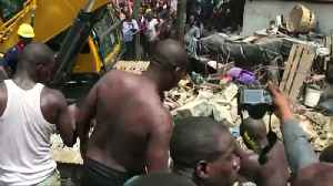 Up to 100 children feared trapped in collapsed Nigerian building [Video]