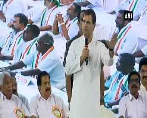 Rahul Gandhi promises fisheries ministry if Congress voted to power [Video]