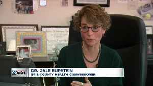 Erie County's top doctor to answer questions in front of legislators over fake health reports. [Video]