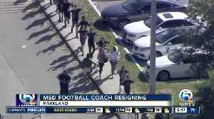 Stoneman Douglas prep football coach says he is resigning [Video]