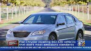 Fiat Chrysler Recalls Vehicles Not Meeting Emissions Standards [Video]