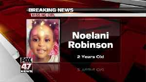 UPDATE: Missing Wisconsin girl toddler not believed to be in Michigan [Video]