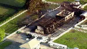 Chopper 5: Barn destroyed by fire in Wellington; 3 horses killed [Video]