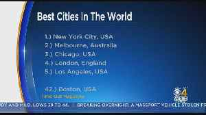 Boston Barely Makes List Of Best Cities In The World [Video]