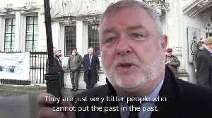 News video: Murder charge is 'one soldier too many' say Justice for Northern Ireland Veterans group
