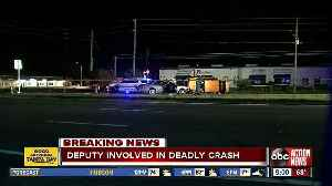 Woman dies after driving wrong way in Pinellas County, off-duty deputy involved in crash [Video]