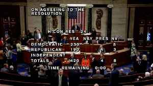 News video: House Passes Resolution Calling For Mueller Report To Be Made Public