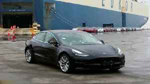 China customs lifts suspension of Telsa Model 3s [Video]