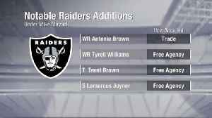 NFL Network's Charley Casserly breaks down Oakland Raiders' offseason additions [Video]