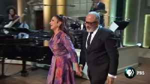 Gloria and Emilio Estefan awarded U.S. top honor for popular song, the Gershwin Prize [Video]