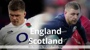 England v Scotland: Six Nations preview [Video]