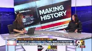 Batesville hires first full-time female firefighter in department's 132-year history [Video]