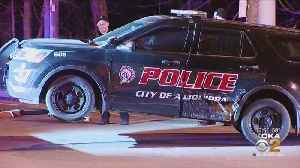 Officer Injured After Driver Crashes Into Police Vehicle [Video]