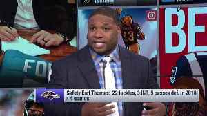 Hall of Fame safety Ed Reed 2.0? NFL Network's Maurice Jones-Drew thinks safety Earl Thomas is the closest Baltimore Ravens fans [Video]